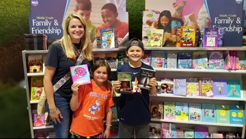 Astros fans donate hundreds of books to help KHOU Turn the Page on illiteracy
