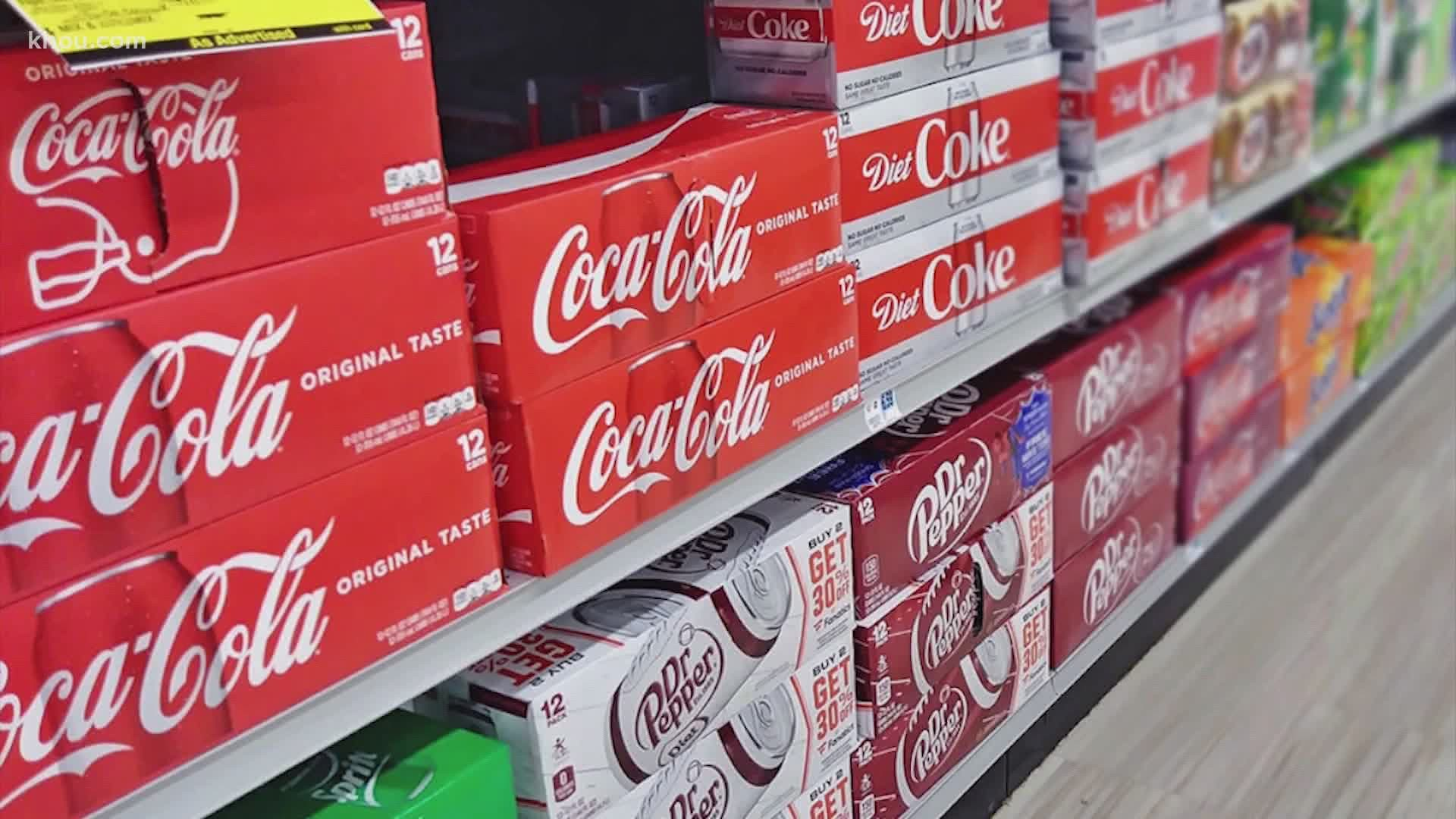 what stores currently have diet coke on sale?