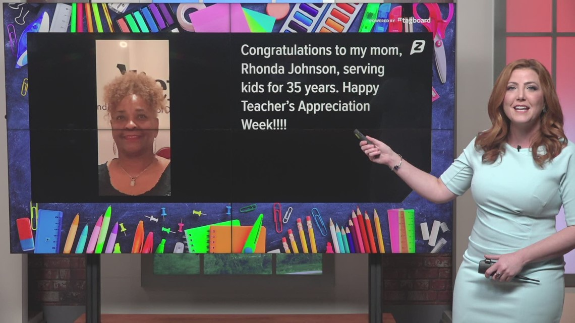 Honoring and recognizing Houston-area teachers during Teacher Appreciation Week