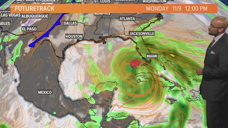 Tropical Storm Eta update: Winds at 65 mph in the Gulf of Mexico | Monday morning update