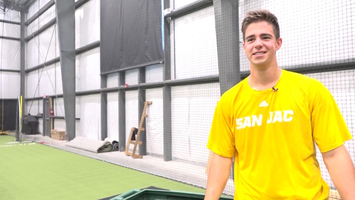 San Jacinto College pitcher a high-end MLB Draft prospect