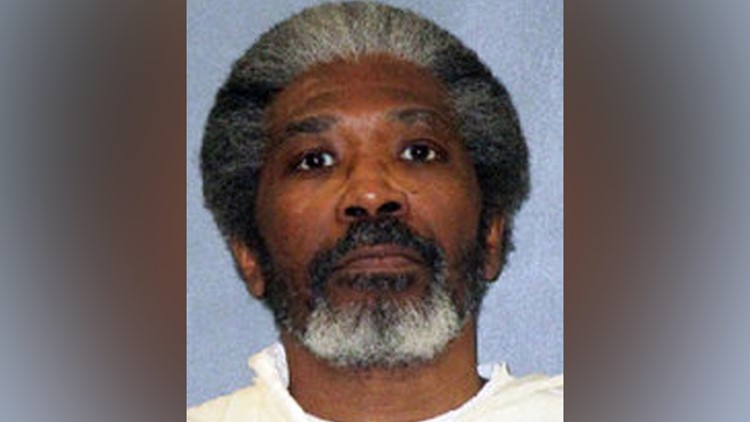 This undated photo released by Texas Department of Criminal Justice shows death row inmate Robert Jennings.