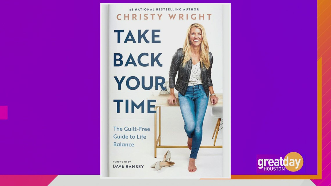 Christy Wright shares tips to balance your time
