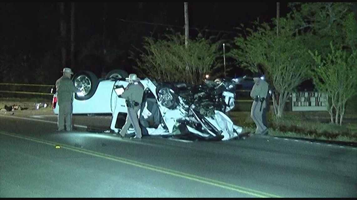 Two people dead, 1 critical after major crash in Montgomery County