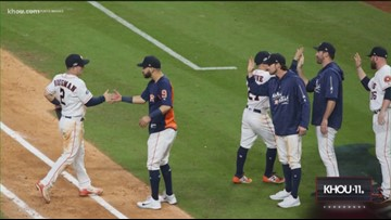 Houston Astros hit the road for closeout Game 3 of the ALDS