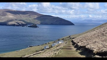 A small island off the coast of Ireland is looking for two people to run its coffee shop