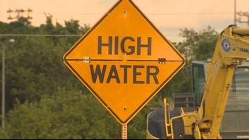 LIST: Houston-area freeways/roads with high water