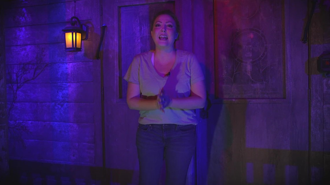 Watch: Terrifying tour through 13th Floor Haunted House