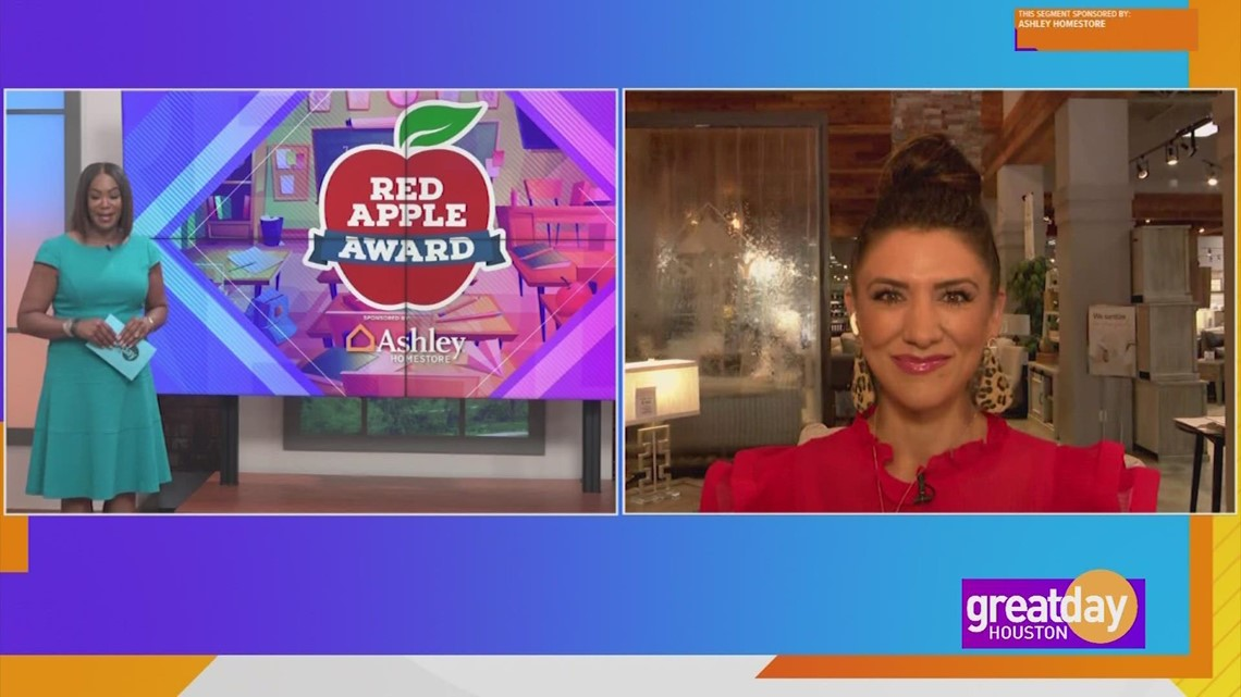 Ashley Homestore kicks of the Red Apple Award  for the new school year