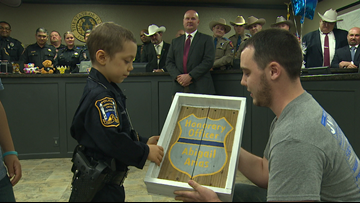 Dad of Officer Abigail shares heartbreaking update about 6-year-old's cancer