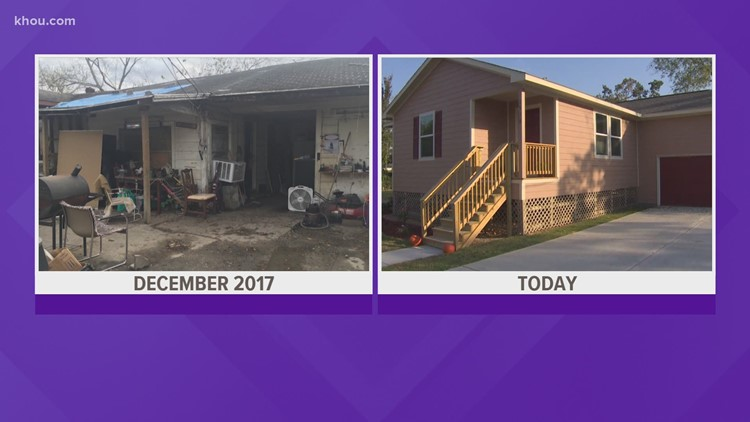 Gomez family eager to move into new home after Hurricane Harvey destroyed last house