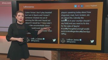 LeBron James calls on MLB Commissioner to 'fix' Astros' sign-stealing punishment