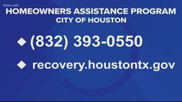 Still struggling after Harvey? City of Houston offering money for those in need