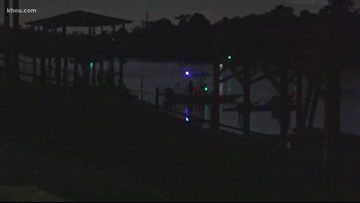 f6c7b9133 1 missing, 2 hurt after boat hits bulkhead at full speed on San Jacinto  River