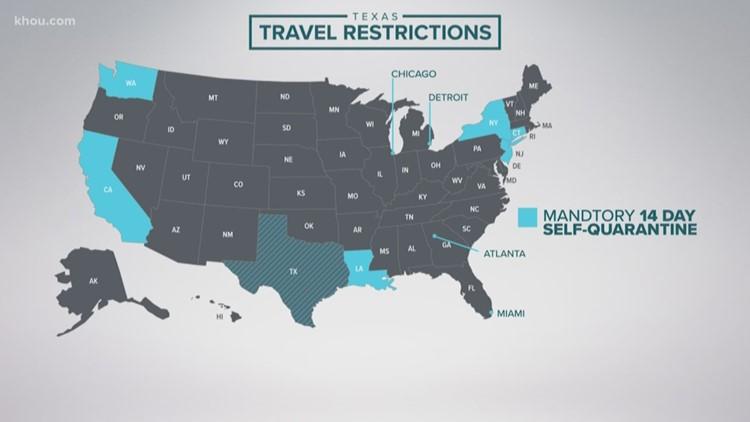 Gov. Greg Abbott expands order requiring certain travelers to quarantine