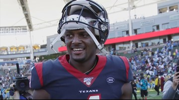 Texans QB Deshaun Watson named AFC Offensive Player of the Week
