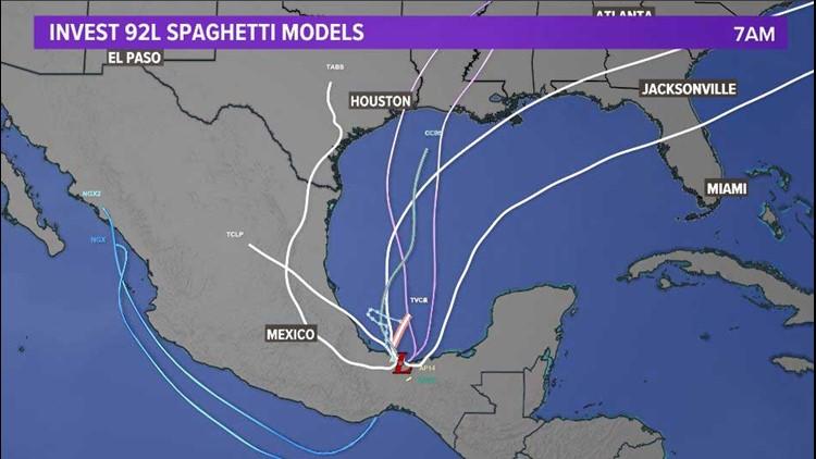 Gulf update: Tropical disturbance has 90% of development over next 5 days