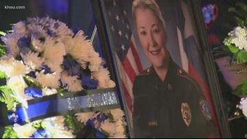 More than 100 attend Nassau Bay candlelight vigil for Sergeant Kaila Sullivan