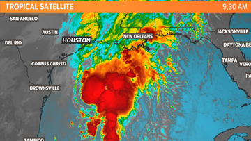Tropical Depression 17 forms in western Gulf of Mexico, no threat to Texas