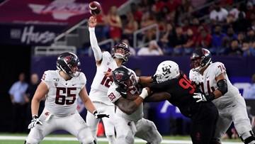Gordon leads No. 20 Washington State over Houston 31-24