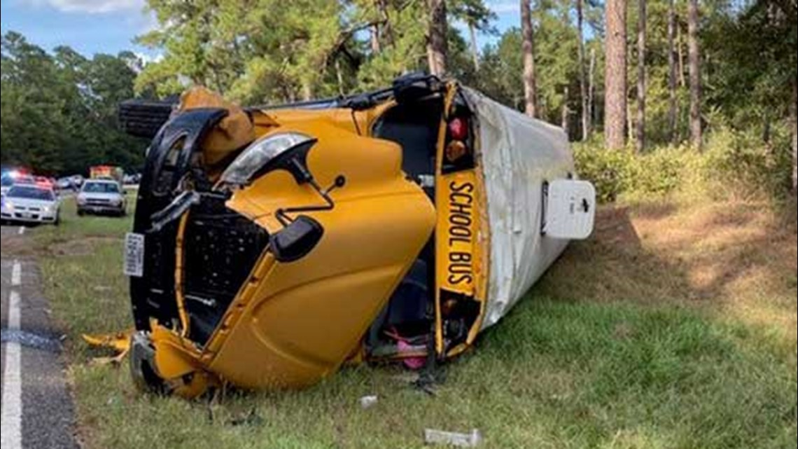 Montgomery County Bus Crash One Student And Driver Hurt