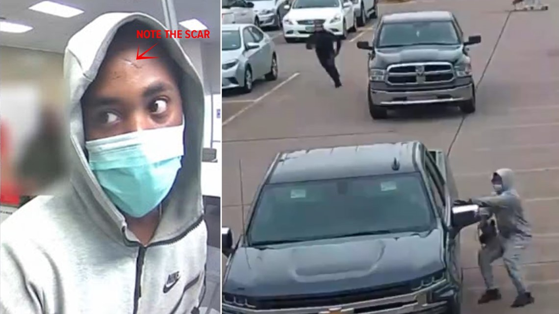 HPD: Purse-snatching robber followed woman after she left Houston bank | Raw video