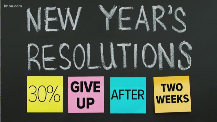 Study: Weight loss, saving money top New Year's resolutions