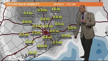 Houston Forecast: Rain Fades And Sunshine Returns