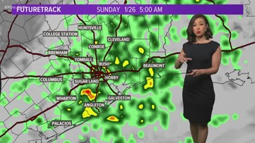 Houston Forecast: Showers moving in tonight, storms possible overnight