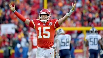 Patrick Mahomes' feet, arms, lift Chiefs to Super Bowl over Titans
