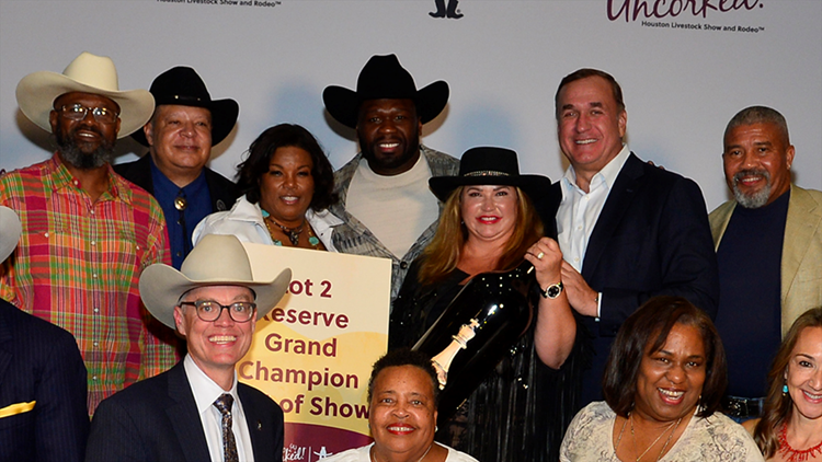 50 Cent's champagne wins Reserve Grand Champion Best of Show in RodeoHouston wine competition