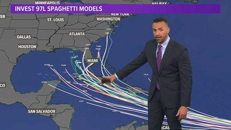 Tracking tropical development that could head into Gulf of Mexico