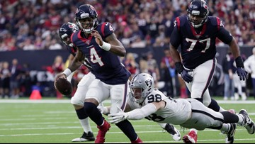 Deshaun Watson named AFC Offensive Player of the Month