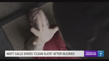 J.J. Watt says new shoes represent a 'clean slate' after his injuries