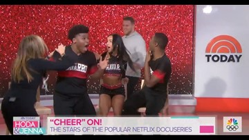 Watch: J.J. Watt surprises cast of 'Cheer' and their reaction is priceless