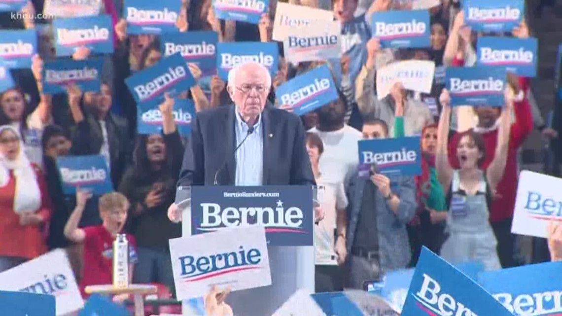 Thousands attend Bernie Sanders rally at University of Houston