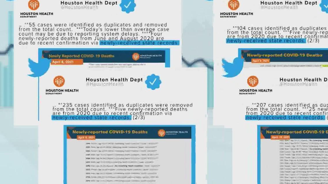 Houston Health underreported COVID-19 deaths