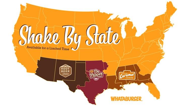 Dr Pepper Shake Map
