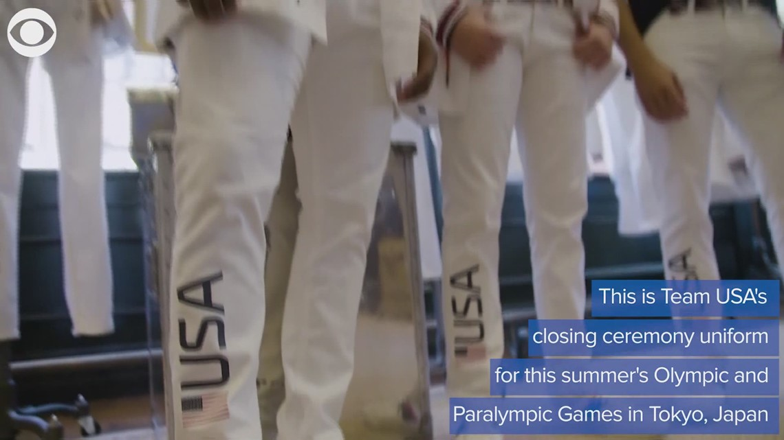 Ralph Lauren unveils Team USA uniform for closing ceremonies of the Olympic and Paralympic Games