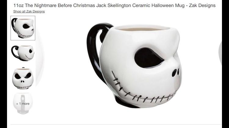 Nightmare Before Christmas Coffee Mugs - Jack the Pumpkin King