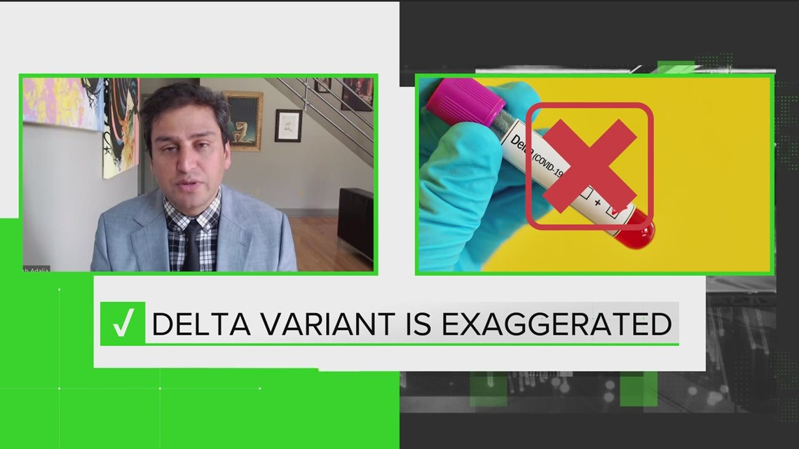 VERIFY: Effectiveness of the COVID-19 vaccine against the Delta variant