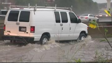 List: High water locations on major roads across Houston