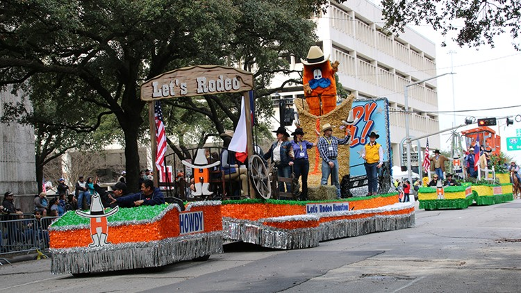 Houston Livestock Show & Rodeo announces dates for parade, BBQ cook-off and Go Texan Day