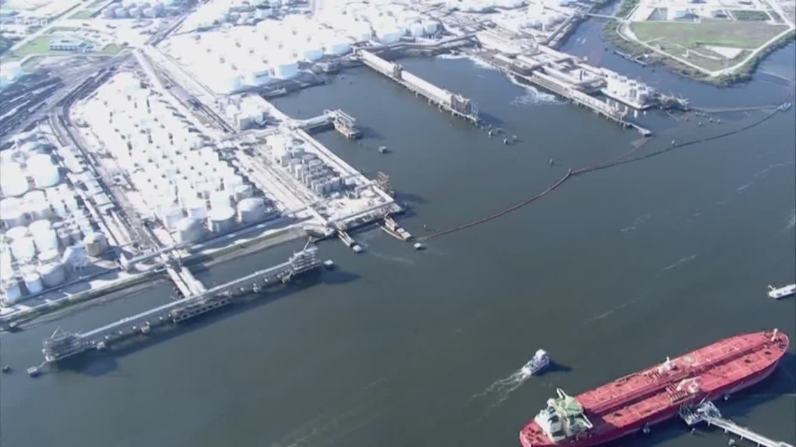 more progress made in cleaning out houston ship channel