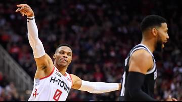 Harden scores 44 as Rockets beat Nets 108-98