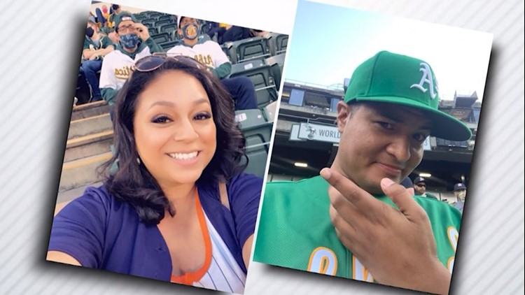 House divided: Meet a couple on opposites sides of the Astros-Athletics game
