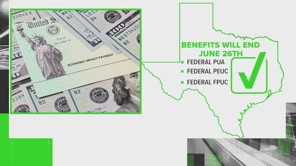VERIFY: All federal pandemic unemployment benefits will end in Texas on June 26