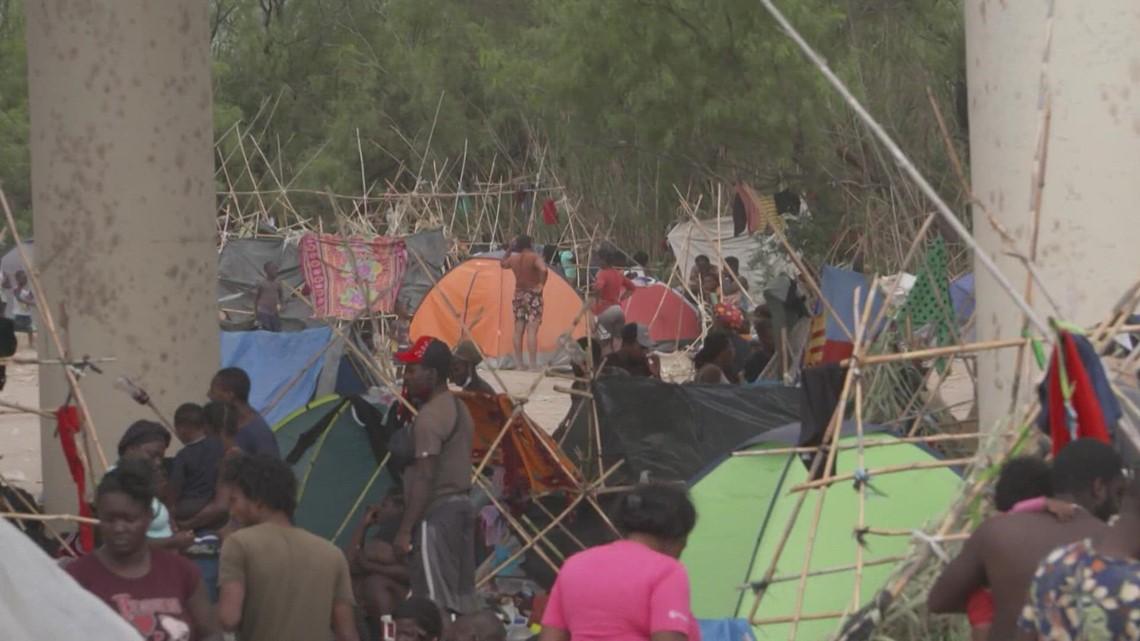 Texas governor blames Biden administration's policies for Haitian border crisis