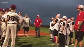 Act of kindness teaches life lessons to young baseball players