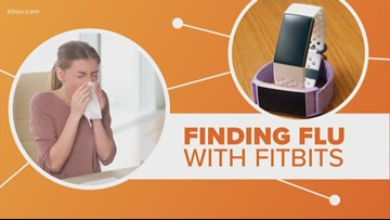 Using your Fitbit to fight the flu